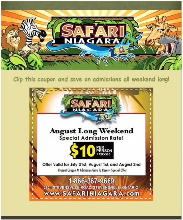20100727 safari niagara email newsletter 376x450