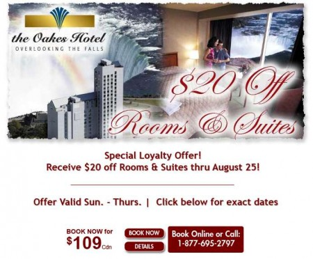 20110729 oakes hotel email newsletter 450x372