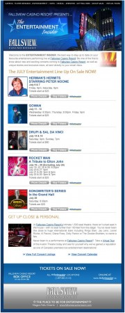 20120413 entertainment insider fallsview casino email newsletter 180x450
