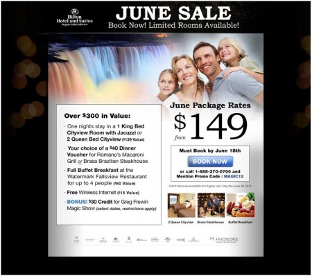 20120531 hilton fallsview email newsletter 450x398
