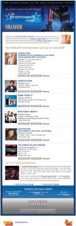 20121109 fallsview casino entertainment insider email newsletter 153x450