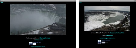 Niagara falls live views 450x159