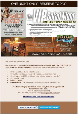20130703 safari niagara email newsletter 310x450