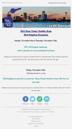20141103 bird kingdom email newsletter 251x450