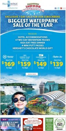 20141103 falls avenue resort email newsletter 227x450