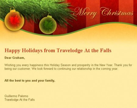 20141216 travelodge email newsletter 450x356