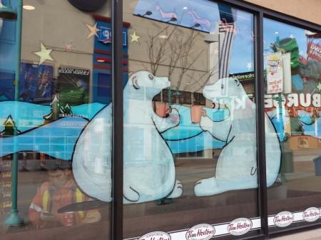 th christmas window painting 450x337